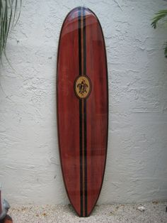 All Tiki Soul Decorative Surfboards are made from highest quality Cypress wood, not some cheap knotty pine. They are shaped in proportion to real surfboard dimensions. This makes our surfboards look realistic and not distorted like some ill experienced crafters. We specialize in