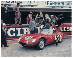NART entered the OSCA S 750 at Le Mans. Bentley and Gordon successfully brought home the car in 18th place.