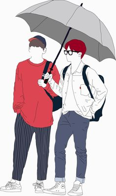 BTS Simple Fanart simple yet amazing <3