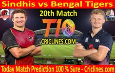 Cricket League We provide 100 % sure today cricket match prediction tips by raja babu. Who will win today match SND vs BTS. Live score with ball by ball update. Live Cricket, Cricket Match, Matches Today, Who Will Win, Bengal Tiger, Tigers, Bts, Baseball Cards, Free