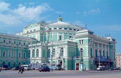 Mariinsky Theater, Saint Petersburg, Russia. МАРИИНСКИЙ ТЕАТР