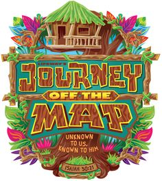 Lifeway 2015 Logo for JOURNEY OFF THE MAP #Lifeway #Vacation Bible School #VBS