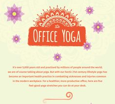 5 Office-Friendly Yoga Poses You Need To Know About That Are Good For Your Mind And Body