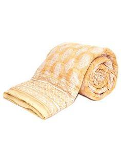 $180 Golden Paisley Fair Trade Quilt!