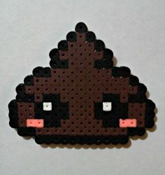 Adorable 8-bit Poo magnet (GREAT STOCKING STUFFER!)
