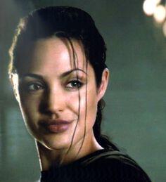 "Angelina Jolie en ""Lara Croft: Tomb Raider"", 2001"