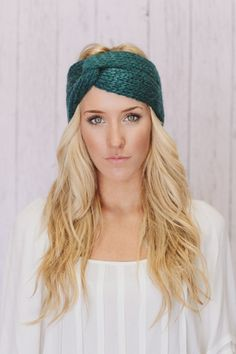 Knitted Turband Headband Ear Warmer | three bird nest