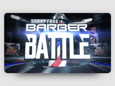 Advertising ▸ SharpFade ® Barber Battle designed by GO AUDIOVISUAL. Connect with them on Dribbble; the global community for designers and creative professionals. 3d Logo, Saint Charles, Peterborough, San Luis Obispo, Show And Tell, Barber, Battle, Advertising, Community