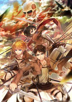 Attack on Titan by LuluSeason.deviantart.com on @deviantART