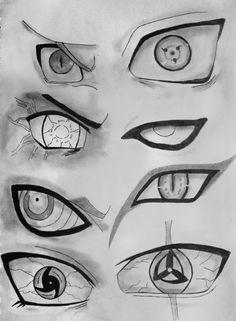 Naruto Eyes. by Fanglesscobra.deviantart.com on @deviantART