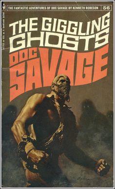The Golden Age: James Bama ~ Doc Savage