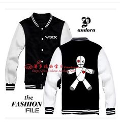 Find More Hoodies & Sweatshirts Information about 2014 vixx VOODOO N Leo Ken Ravi Hong bin Hyuk Eternity baseball uniform,High Quality uniform work,China uniform england Suppliers, Cheap baseball uniform from shaoning zhao's store on Aliexpress.com