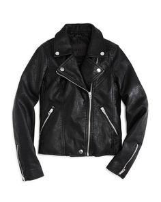 4436a29e8 BLANKNYC Girls' Faux-Leather Moto Jacket - Big Kid Kids - Bloomingdale's