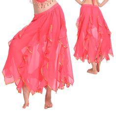 tribales de la india de la danza del vientre falda de baile de la india ropa de traje de la danza del vientre