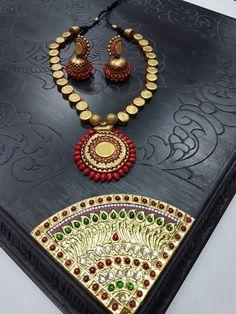 terracottajewelry #terracottanecklace #handmade #ecofriendly ...