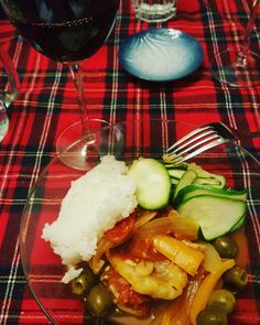 Tonight I made Bacalao a la Vizcaina. I didn't really use the salted cod this recipe calls for. This is my fresh frozen cod version. Perfect for a cold January evening. Sautee: Onions Garlic Bell peppers Tomatoes Hot and sweet cherry peppers * Green...