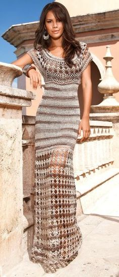 Crochet dress inspiration ...
