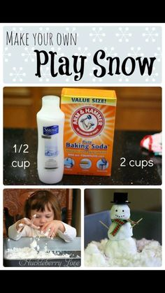 Snow sensory play Tap the link to check out fidgets and sensory toys! Happy Hands Toys!