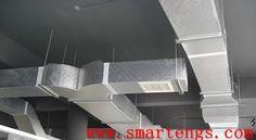 مراحل تركيب التكييف المركزي - Stages of the installation of central air conditioning | smartengs