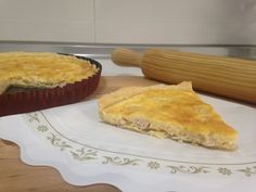 Receta Quiche, Monsieur Cuisine SilverCrest, Lidl - YouTube Lidl, Empanadas, Apple Pie, Cornbread, Connect, Breakfast, Ethnic Recipes, Desserts, Food