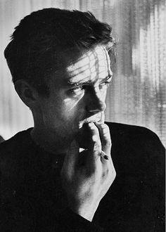 James Dean photographed by Roy Schatt.