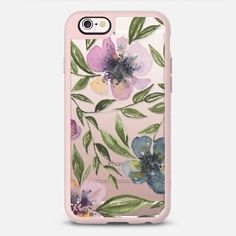 flowers + leaves iPhone 6s case by Ashley Lynn Kesler | Casetify