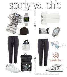 sporty vs. chic