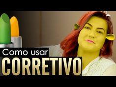 COMO USAR CORRETIVO COM ALICE SALAZAR - Canal TOP - YouTube