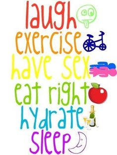 Essentials for a happy and healthy life!