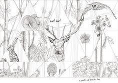 Woodland-Wall&decò-The Elusive Otter