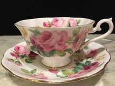Royal Grafton Fine Bone China Tea Cup And Saucer (England). Teapots And Cups, Teacups, China Tea Sets, Bone China Tea Cups, My Cup Of Tea, China Patterns, Tea Cup Saucer, Vintage Tea, Tea Pots