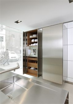 :: KITCHENS :: heart the simplicity of Bulthaup kitchens #interiors #kitchens