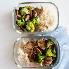 Grilled Pork and Broccoli Meal Prep