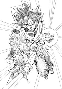 Akira, Marvel Coloring, Dragon Ball Z Shirt, Dragon Z, Ball Drawing, Neue Tattoos, Fantastic Art, Awesome, Drawing Sketches