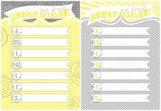 Our family summer schedule (free printable)