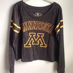 Minnesota long sleeve top University of Minnesota top gophers Tops Tees - Long Sleeve