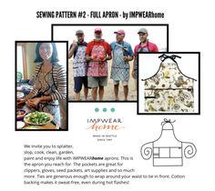 Sewing Patterns – IMPWEARhome Sewing Patterns Free, Free Sewing, Laminated Cotton Fabric, Sewing Aprons, Kids Apron, Sewing Class, Knit Pants, 3 Kids, Double Knitting