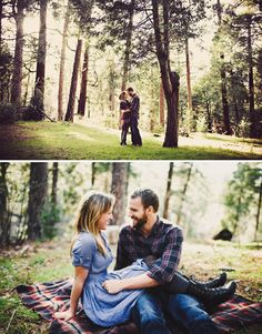 seriously considering a camping engagement shoot. possibly with missyphotography?