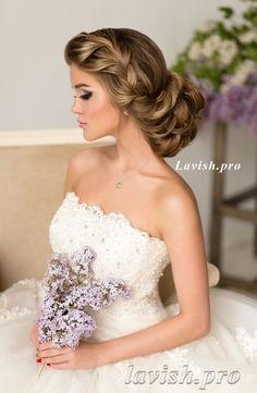 Featured Wedding Hairstyle:lavish.pro;www.lavish.pro; Wedding hairstyle idea.