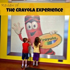 Review of The Crayola Experience in Easton, PA