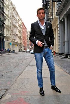Urban Men's Casual Fashion - In the recent years everyone has become conscious about their fashion and looks. Today we are going to talk about urban men casual fashion Preppy Mens Fashion, Mens Fashion Suits, Outfit Jeans, 2016 Fashion Trends, Fashion Ideas, Fashion Hacks, Fashion Inspiration, Fashion Tips, Urban Style Outfits