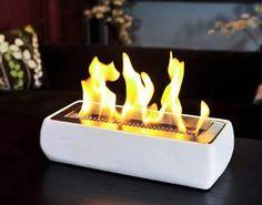 Brasa , Avani Portable Table Top Ethanol FireplaceThe Block Shop - Channel 9