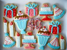 Birthday icingcookies#sugarcookies #アイシングクッキー#誕生日