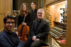 Neue Musik für einen legendären Film von Ehsan Ebrahimi, Victoria Constien, Tobias Hegele und Laurence Cummings (von links).