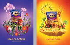 frito dips best ads by carl warner Creative Poster Design, Ads Creative, Creative Posters, Creative Advertising, Graphic Design Posters, Advertising Design, Graphic Design Inspiration, Tetra Pak, Carl Warner