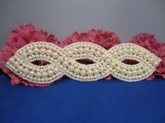 Pearled Infinity Beaded Applique 2210 | eBay