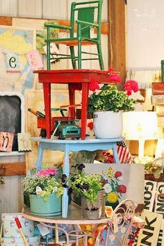 Up and at 'em http://vintageshowoff.blogspot.ca