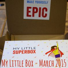 A Yank in Blighty: My Little Box | March 2015: My Little Superbox