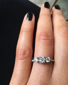 Erica Stoll Engagement Ring