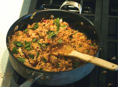 Spice up your favorite comfort food with this gluten free one-pot meal